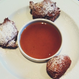 Bananas Foster Fritters